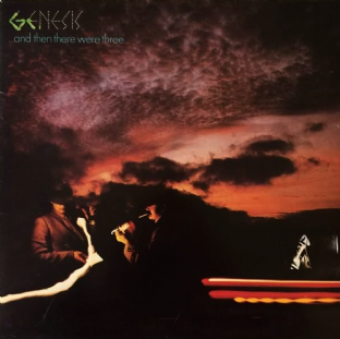 Genesis ‎- ...And Then There Were Three... (LP) (G++/VG)